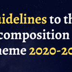 Guidelines to the composition scheme 2020-2021