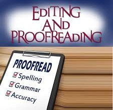 Photo of Proofreading vs. Editing