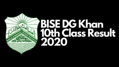 Photo of BISE DG Khan Board Matric result 2020