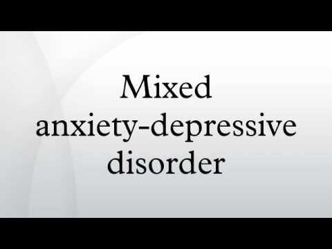 mix antidepressant and anxiety