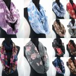 fantastic plain slick scarves