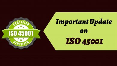 Photo of What are the changes updated in the ISO certification 45001