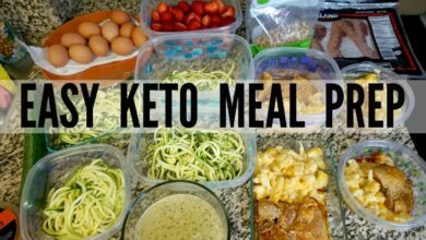 Photo of 1200 Calorie Keto Meal Plan