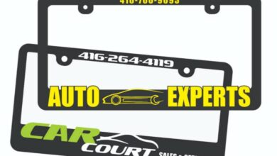 Photo of Raised License Plate Frame – Making your Mark.