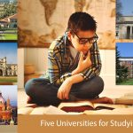 Five universities for studying History