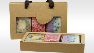 Photo of Coruscating Custom Soap Packaging for Promoting Mango Butter Bar