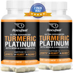 2-Pack Turmeric Curcumin with BioPerine