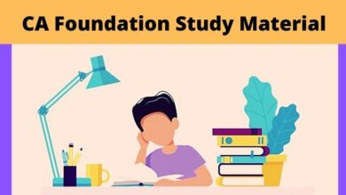 Photo of Download ICAI CA Foundation Study Material in English and Hindi