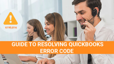 Photo of Guide to Resolving QuickBooks Error Code 6190 and 816