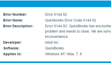 Photo of QuickBooks error 6144 82 – Resolve it