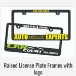 Raised License Plate Frames