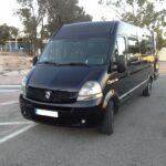 black minibus