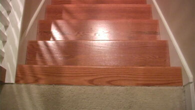 Photo of Budget Staircase Remodel_ From Wood Treads to Carpeting