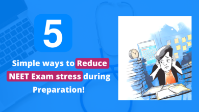 Photo of How to Reduce NEET Exam stress during Preparation!