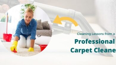 Photo of Cleaning Lessons from a Professional Carpet Cleaner
