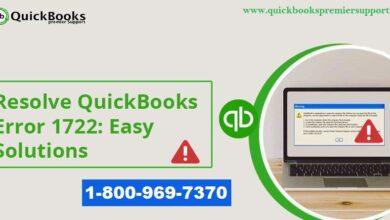 Photo of How to Troubleshoot QuickBooks Error 1722 (System Error)?