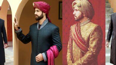 Photo of Latest Men's Wedding Sherwani Trends