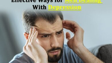 Photo of Effective Ways for Men Dealing With Depression