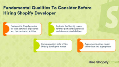 Photo of Fundamental Qualities to Consider Before Hiring Shopify Developer