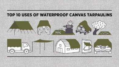 Photo of Top 10 Uses of Waterproof Canvas Tarpaulins