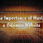 Importance of a Website for your Business