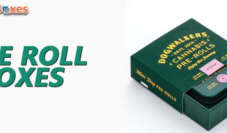 Custom Printed Pre-roll Packaging