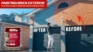 Photo of A Step By Step Guide to Paint Exterior Brick of Your Home