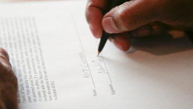 Divorce Contract